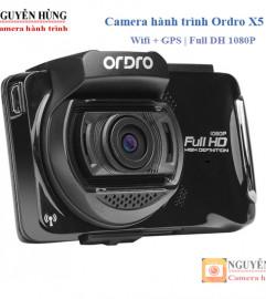 Ordro X5 Camera hành trình Wifi GPS, LCD Cảm Ứng Cao Cấp