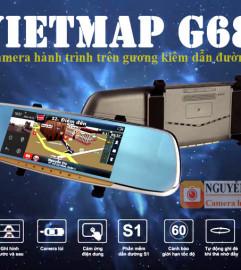 Vietmap G68 Camera Hành Trình Hành Gương Kiêm Dẫn Đường