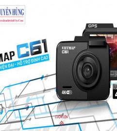 Vietmap C61 wifi – ghi hình 4k, cảnh báo giao thông