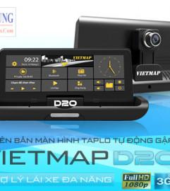 Vietmap D22 – Camera Hành Trình Dẫn Đường, Wifi, Giám Sát Từ Xa