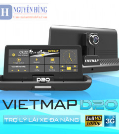 Camera Hành Trình Vietmap D20 – 4G-Wifi [Miễn Phí Lắp Đặt-Giao Hàng]