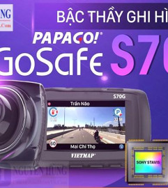 Camera Hành Trình Chính Hãng VietMap Papago Gosafe S70G