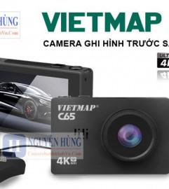 Camera Hành Trình Vietmap C65 Ghi Hình Trước Sau, Cảnh Báo Giao Thông