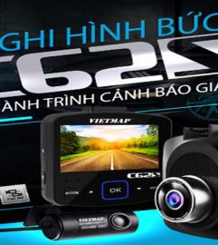 Camera Hành Trình Vietmap C62S, Wifi, Cảnh Báo Giao Thông
